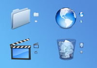 Agua System Icon Set